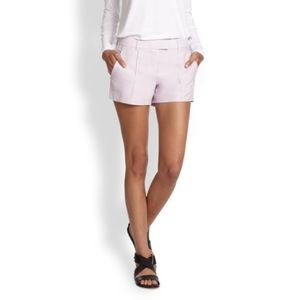 Theory Lilac Shorts